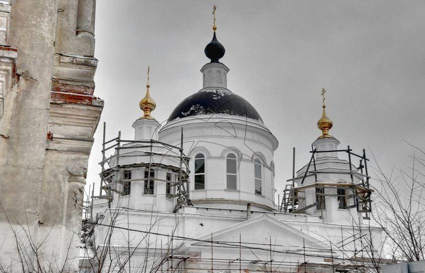 Комплекс монастыря Николаевская Берлюковская Пустынь