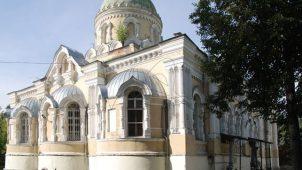 Церковь Святой Троицы, 1878-1884 гг., монастырь Николаевская Берлюковская Пустынь
