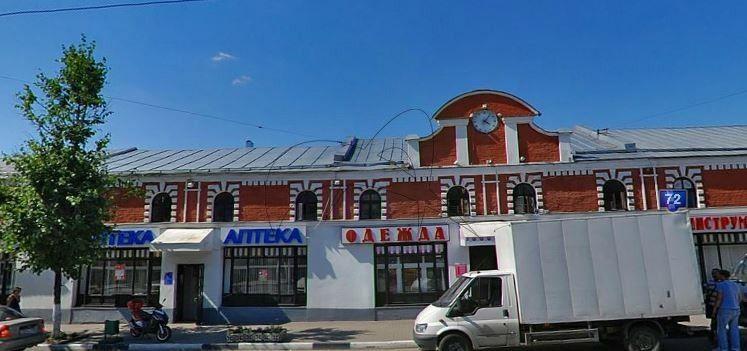 Лавки, конец XIX — начало ХХ вв., ансамбль общественных зданий