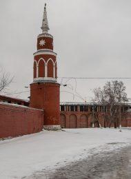Башня юго-западная, Брусненский монастырь, ХVI-ХVIII вв.