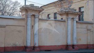 Ворота, середина XIX в., усадьба Осетрова