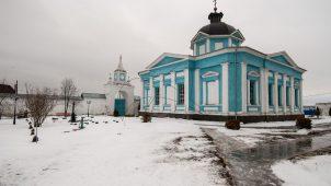 Ново-Федоровская церковь, Ансамбль Бобренева монастыря, ХVII-ХVIII вв.