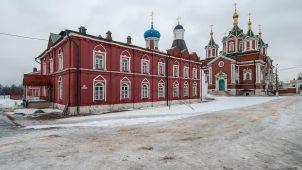 Церковь Успения, Брусненский монастырь, ХVI-ХVIII вв.