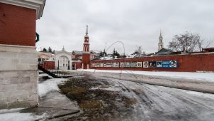 Ограда, Брусненский монастырь, ХVI-ХVIII вв.