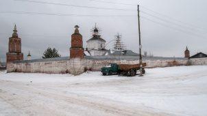 Башня северо-восточная малая, Ансамбль Бобренева монастыря