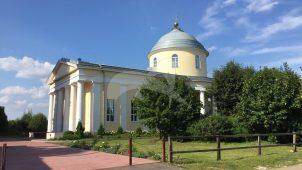 Троицкая церковь, 1815 г., ХIХ в., усадьба «Троицкое-Ратманово»