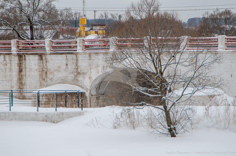 Каменный мост, 1820-е гг., усадьба Вяземы (Годуновых), 1590-1600 гг.