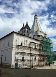 Церковь великомученика Георгия Победоносца, Владычный монастырь, ХVI-ХVIII вв.