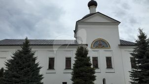 Церковь Покровская, 1670-1697 гг., Высоцкий монастырь