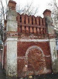 Башня ограды, Владычный монастырь, ХVI-ХVIII вв.