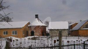 Часовня на кладбище с оградой, 70-е гг. XIX в., церковь Святителя Николая, 1859 г.