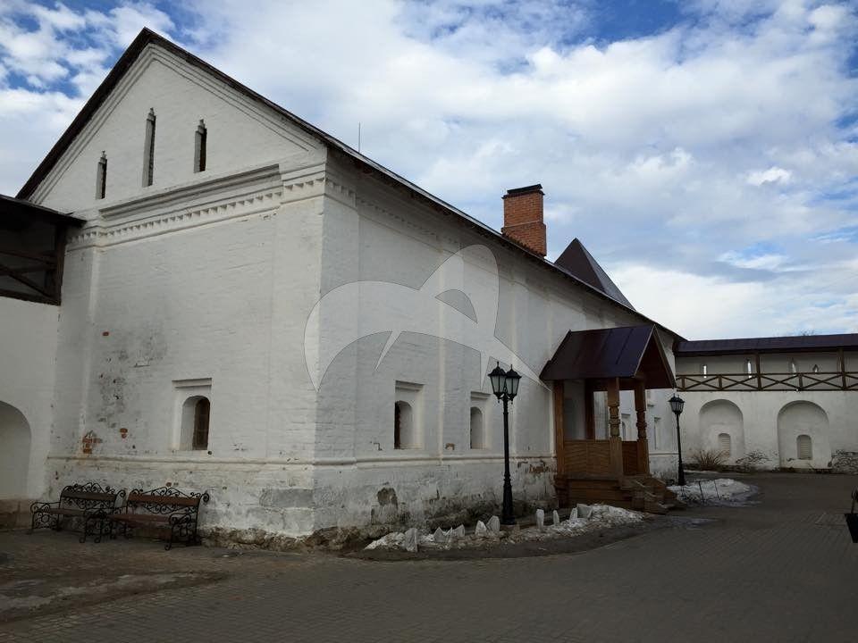 Башни и стены ограды, XVI-XVII вв., Владычный монастырь