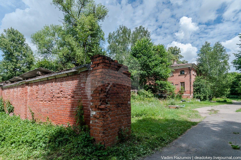 Остатки восточной ограды, ансамбль усадьбы Отрада, ХVIIIв.
