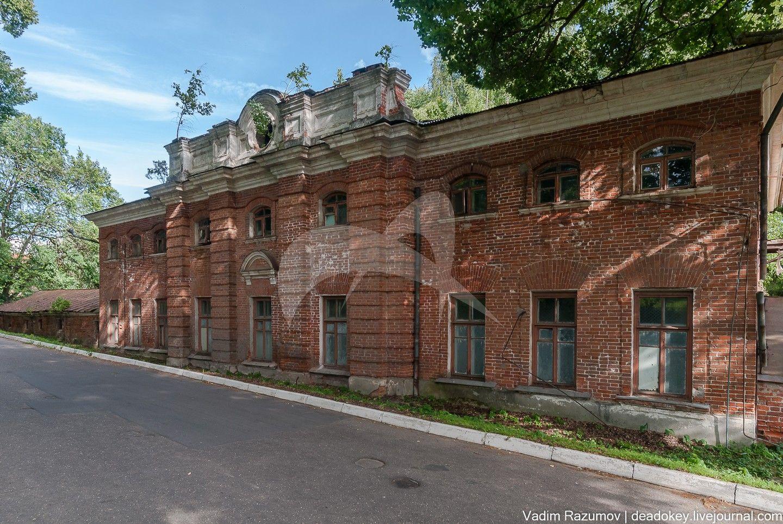 Жилой корпус, ансамбль усадьбы Отрада, ХVIIIв.