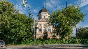 Церковь Николая Чудотворца, 1783 г., ансамбль усадьбы Отрада, ХVIIIв.