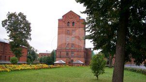Хозяйственный корпус с водонапорной башней, комплекс Московской окружной психиатрической лечебницы, 1902-1907 гг.