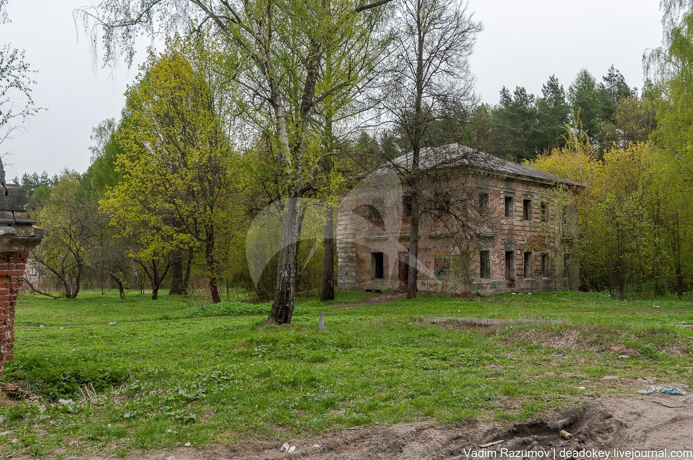 Флигель северо-восточный, 1776-80 гг., усадьба Петровское-Алабино (Демидовых), ХVIII в., усадьба «Петровское», 2-я половина XVIII в.