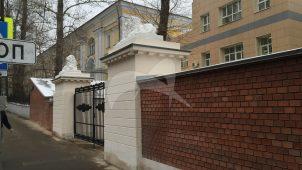 Ограда бывшего слободского дворца, XVIII-XIX вв.