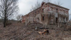 Дом управляющего, начало XIX в., усадьба «Белая Колпь»