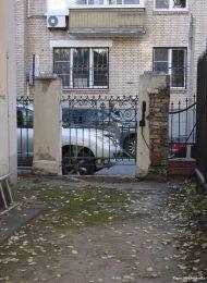 Ограда, 2-я половина XIX в., городская усадьба А.Д. Негуневой — Е.А. Ивановой — П.Н. Иванова