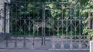 Ограда с воротами, XIX в., городская усадьба Д.Ф. Дельсаля