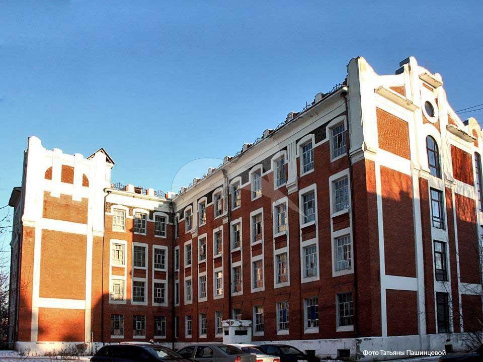 Казарма для рабочих, 1907-1908 гг., ансамбль зданий старых корпусов Глуховской мануфактуры