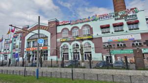 Отбельно-красильная фабрика, 1848 г., ансамбль зданий старых корпусов Глуховской мануфактуры