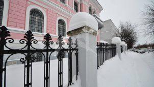 Ограда кирпичная, 1880-1894 гг., городская усадьба Мараевых