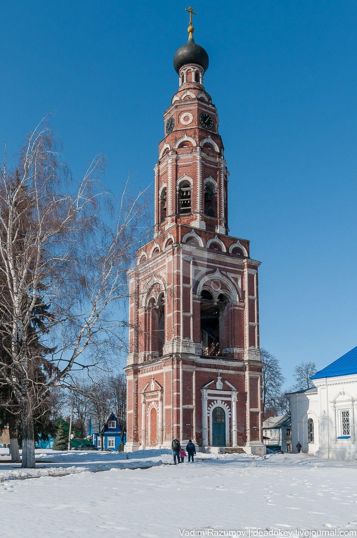 Колокольня, Родевицкий монастырь, ХVII-ХVIII вв., арх. Шестаков А.М.
