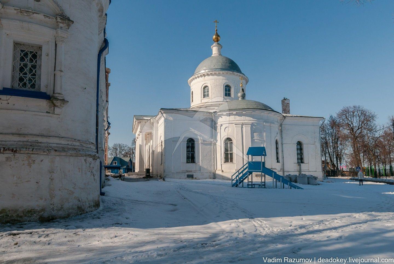 Церковь Михаила Архангела, Родевицкий монастырь, ХVII-ХVIII вв., арх. Шестаков А.М.