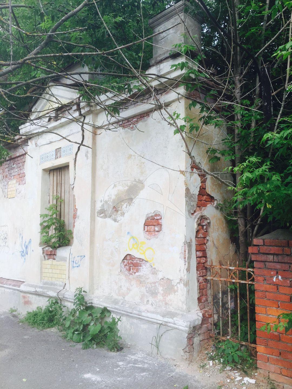 Флигель хозяйственный, начало XX в., городская усадьба Д.А. Хлебникова