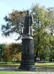 Памятник Ф.Э. Джержинскому, 1958 г., ск. Е.В. Вучетич, арх. Г.А. Захаров, бронза