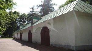 Каретный сарай, конный двор, усадьба «Вороново», XIX в.