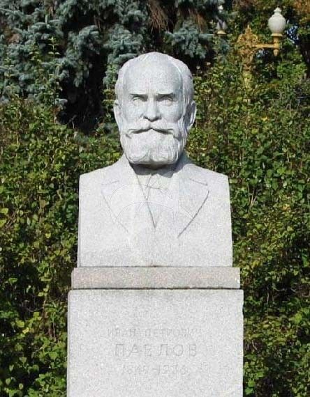 Памятник И.П. Павлову, 1954 г., ск. М.Г. Манизер, гранит