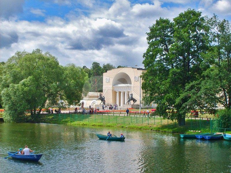 Усадьбы Кузьминки, XIX в. (произведения садово-паркового искусства)