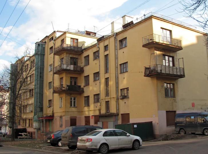 Ансамбль жилых домов «Матросская тишина», 1927 г., архитектор М.И. Мотылев